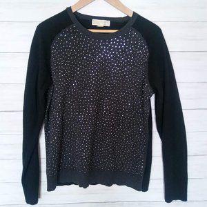 MICHAEL Michael Kors | Studded Raglan Sweater